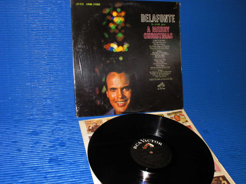 BELAFONTE - TO WISH YOU A MERRY CHRISTMAS - / Harry Belafonte -  RCA 'Black Dog' 1962