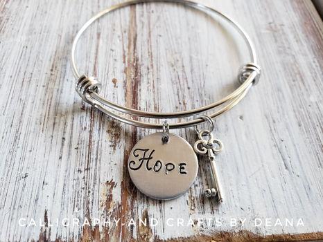 Hope Bracelet (Pick up)