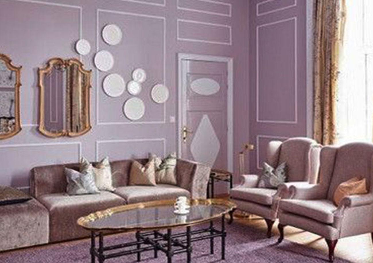 Purple Monochromatic design