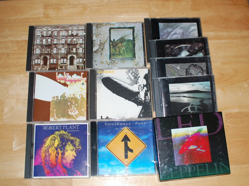 Led Zeppelin - 15 CDs collection
