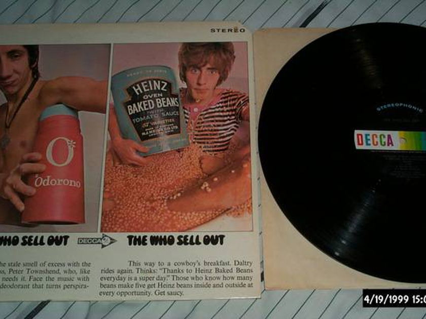 The who - The Who Sell Out decca label lp nm