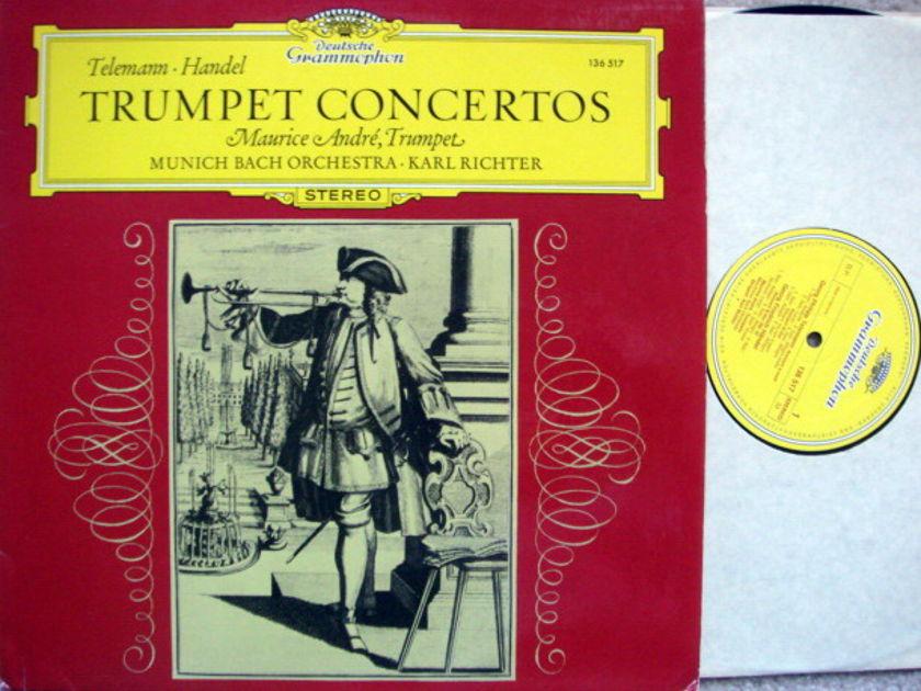 DG / MAURICE ANDRE, - Telemann-Haydn Trumpet, Concertos,  NM!