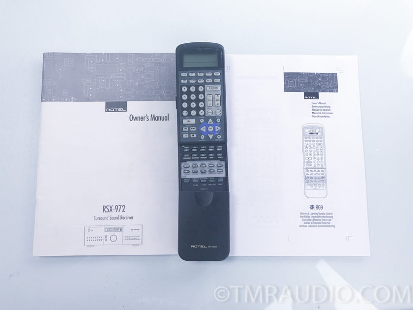 Rotel  RSX-972 5.1 Channel Surround Sound Receiver (2780)
