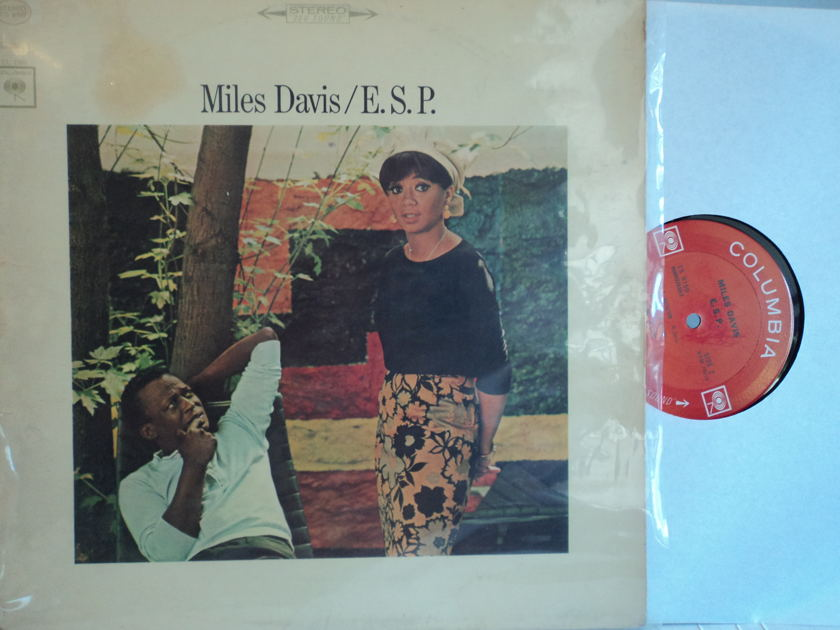 "Miles Davis - E.S.P.  Wayne Shorter, Tony Williams, Ronald Carter & Herbie Hancock 1965 Columbia 2-eye ""360 Stereo"""