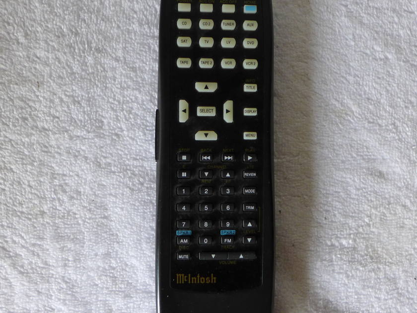 MCINTOSH HR 042 MCINTOSH REMOTE