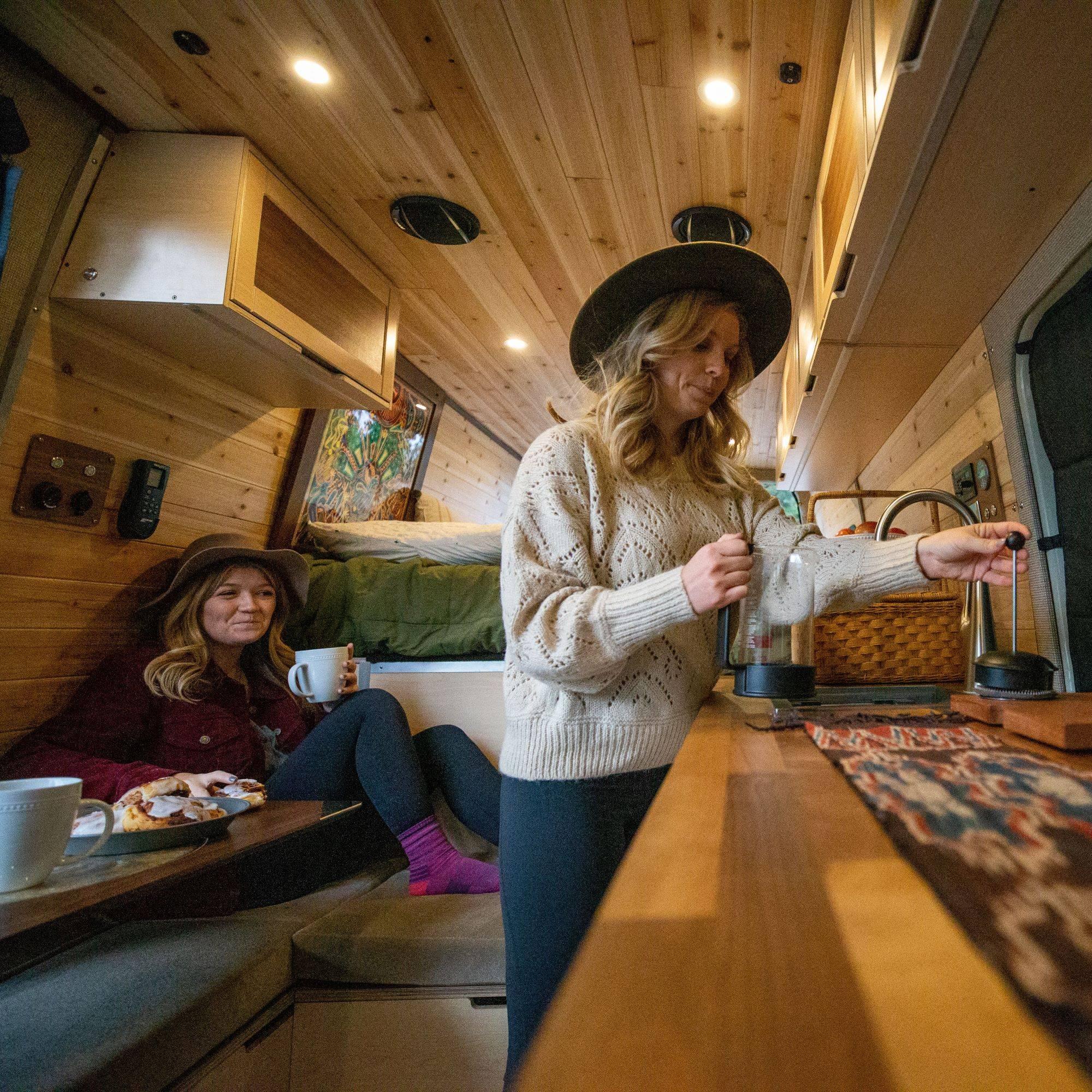 Custom Camper Van Conversion Interior by The Vansmith in Boulder, Colorado