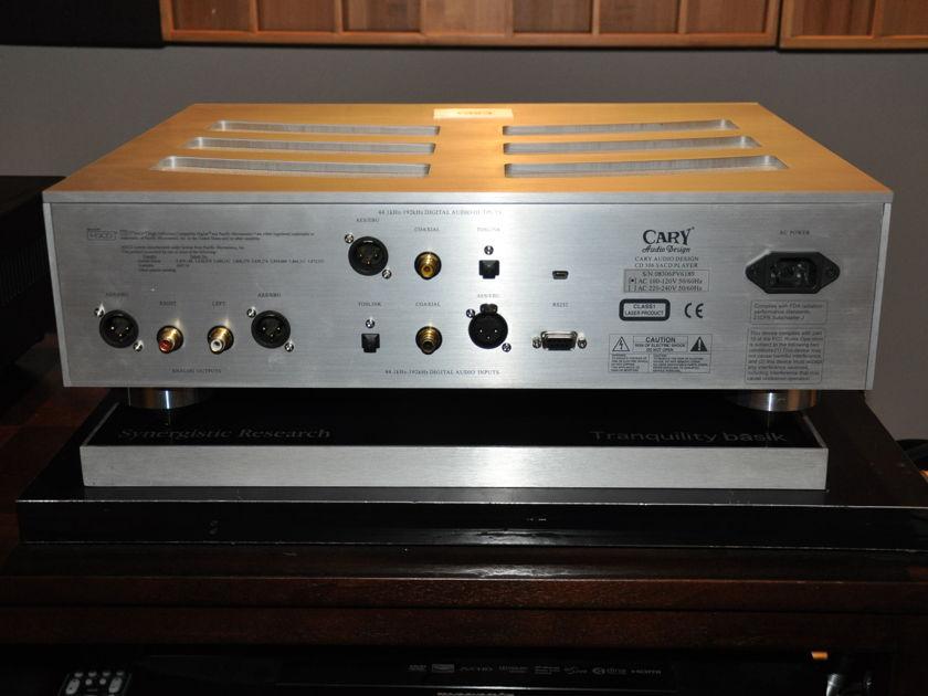 Cary Audio  pro 306 sacd/usb up sampling cd