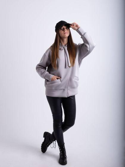 Куртка Бомбер универсальный «Серебристый»