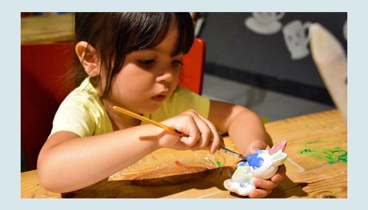 oskarshausen kindergeburstag kreativwerkstatt bemalen