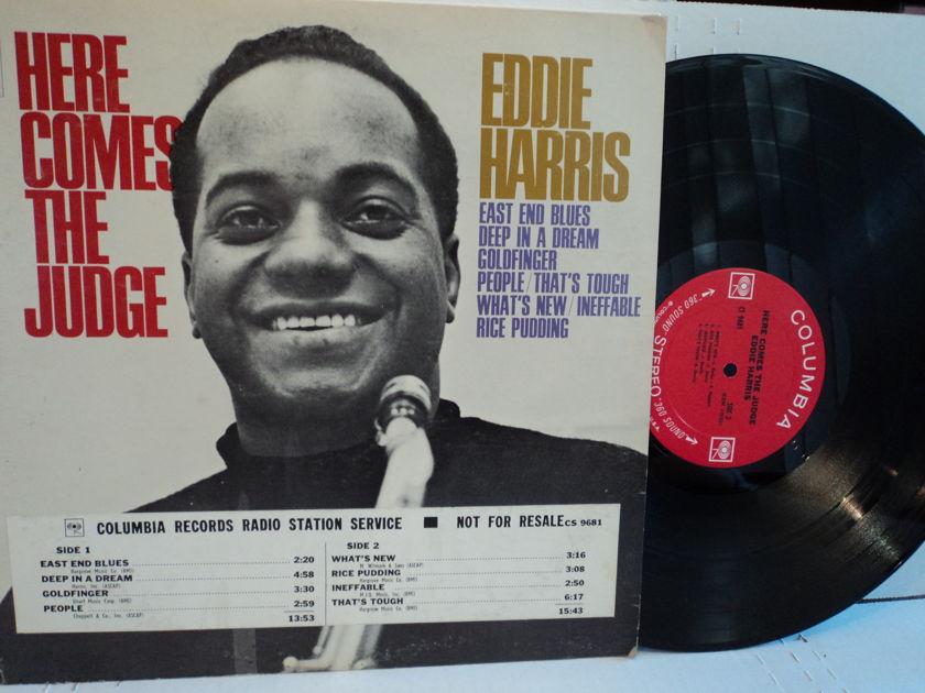 Eddie Harris  - Here Comes The Judge Columbia 2 Eye NM