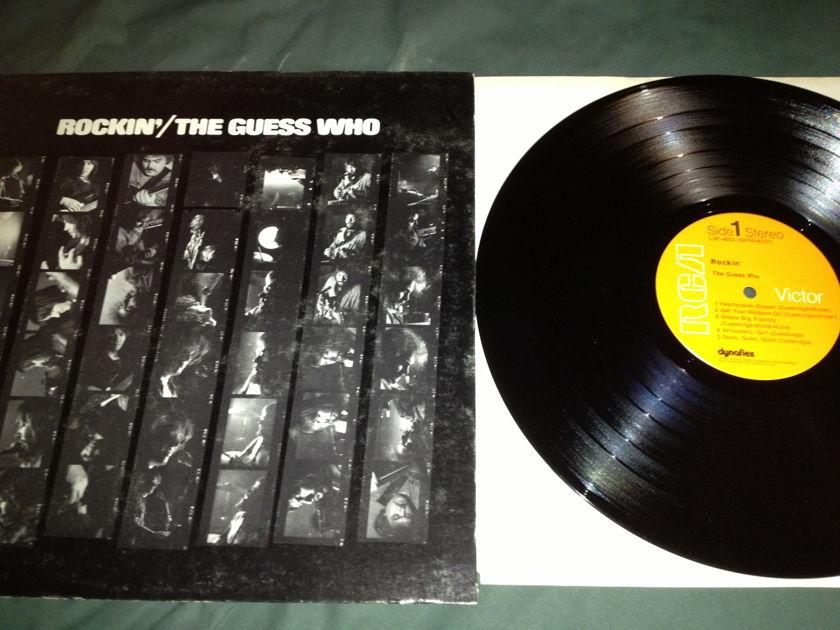 Guess Who - Rockin' LP NM RCA Orange Label