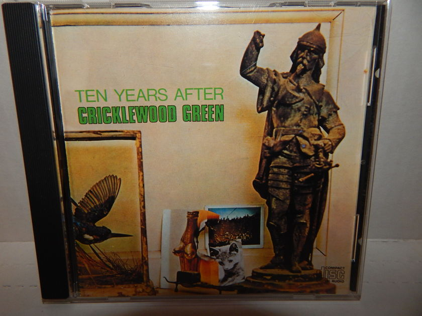 TEN YEARS AFTER Cricklewood Green - Chrysalis F2 21084 blue letters Excellent Blues Rock CD