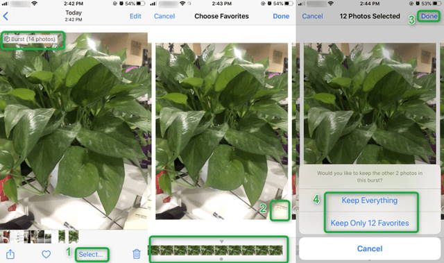Delete duplicate images on iPhone