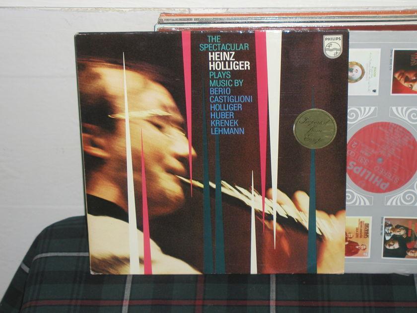 Holliger - Berio/Castiglioni Philips Import LP 6500