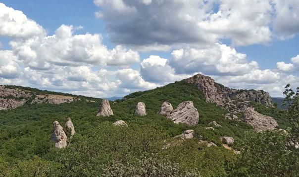 Храм Солнца — место силы в Крымских горах