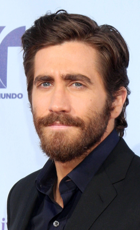 Jake Gyllenhal beard, mustache and longer hair