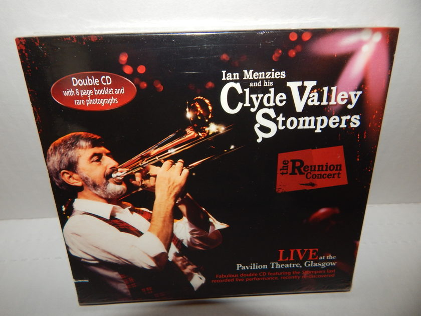 CLYDE VALLEY STOMPERS Reunion Concert -  LIVE At The Pavilion Theatre Glascow 8pg Booklet Factory Sealed UK Scotdisc 2 CD RARE