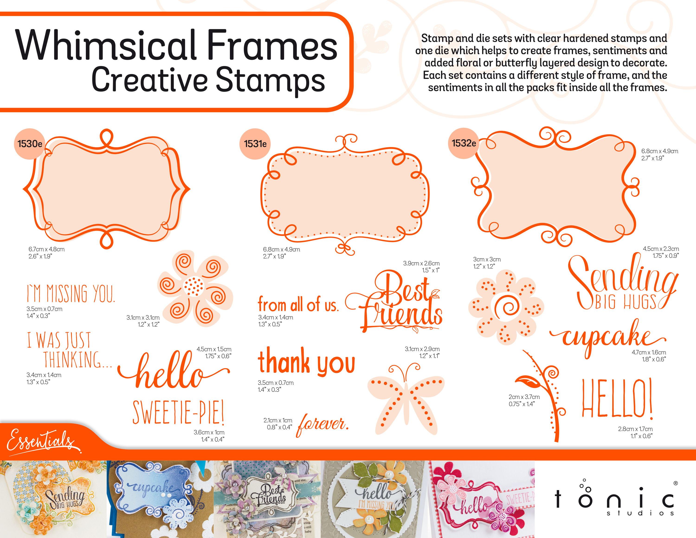 Whimsical Frames — Tonic Studios