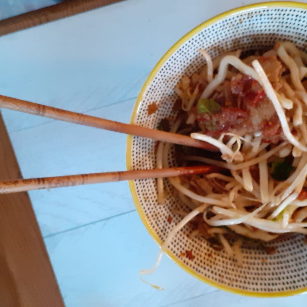 Such a fantasic taist and flavours with a good level of sambal :)