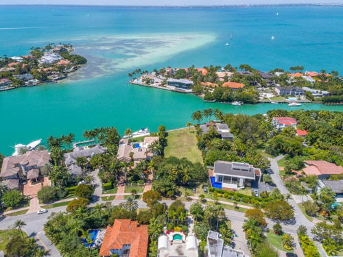 skyview of Key Biscayne