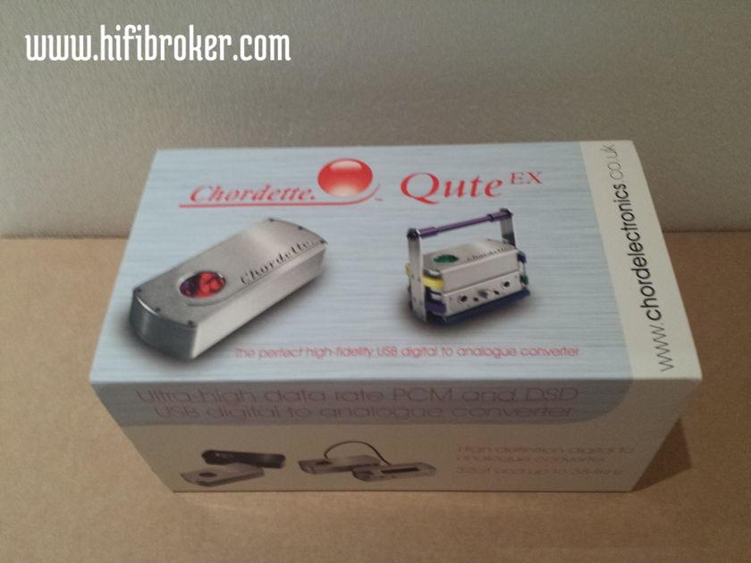 Chord Electronics Ltd. Qute EX