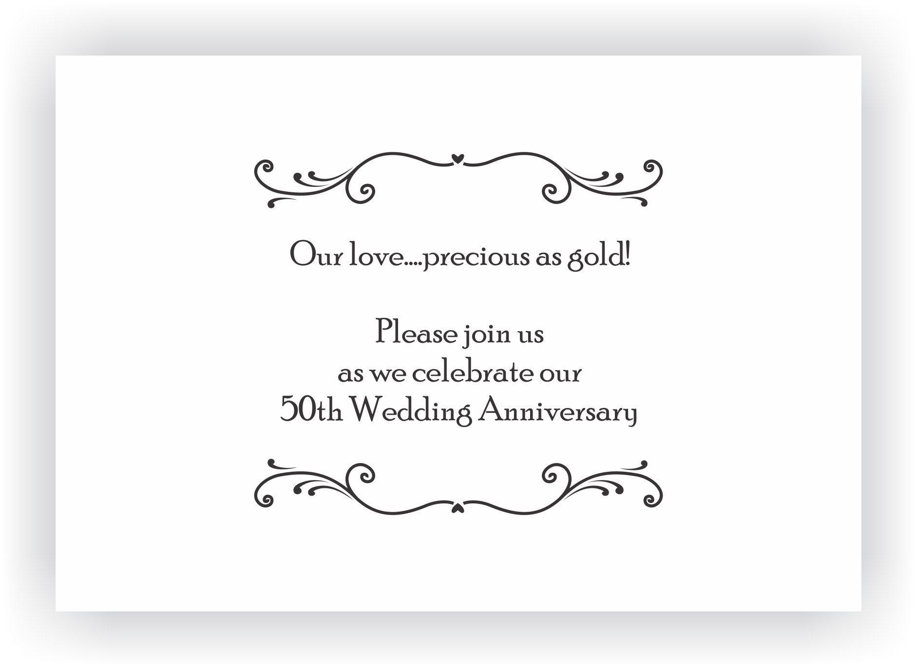 Wedding Anniversary Invitation Message: Marriage Anniversary Invitation Messages