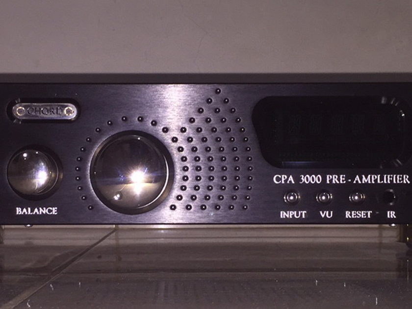 Chord Electronics Ltd. CPA-3000 preamp. 100-240 volts. Free shipping worldwide !