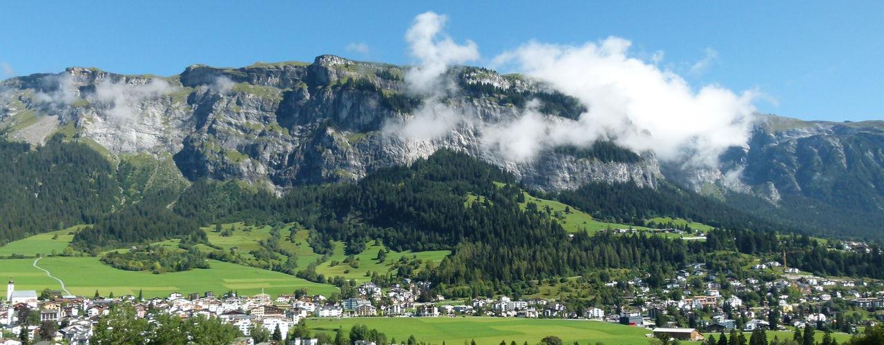 Bergmassiv des Flimserstein