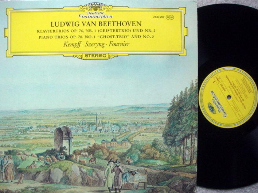 DG / FOURNIER-SZERYNG-KEMPFF, - Beethoven Piano Trio No.1 Ghost, MINT!