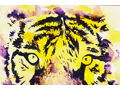 LSU Tiger Watercolor Painting