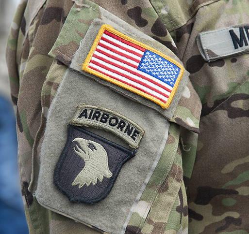 101st Airborne Combat Patch