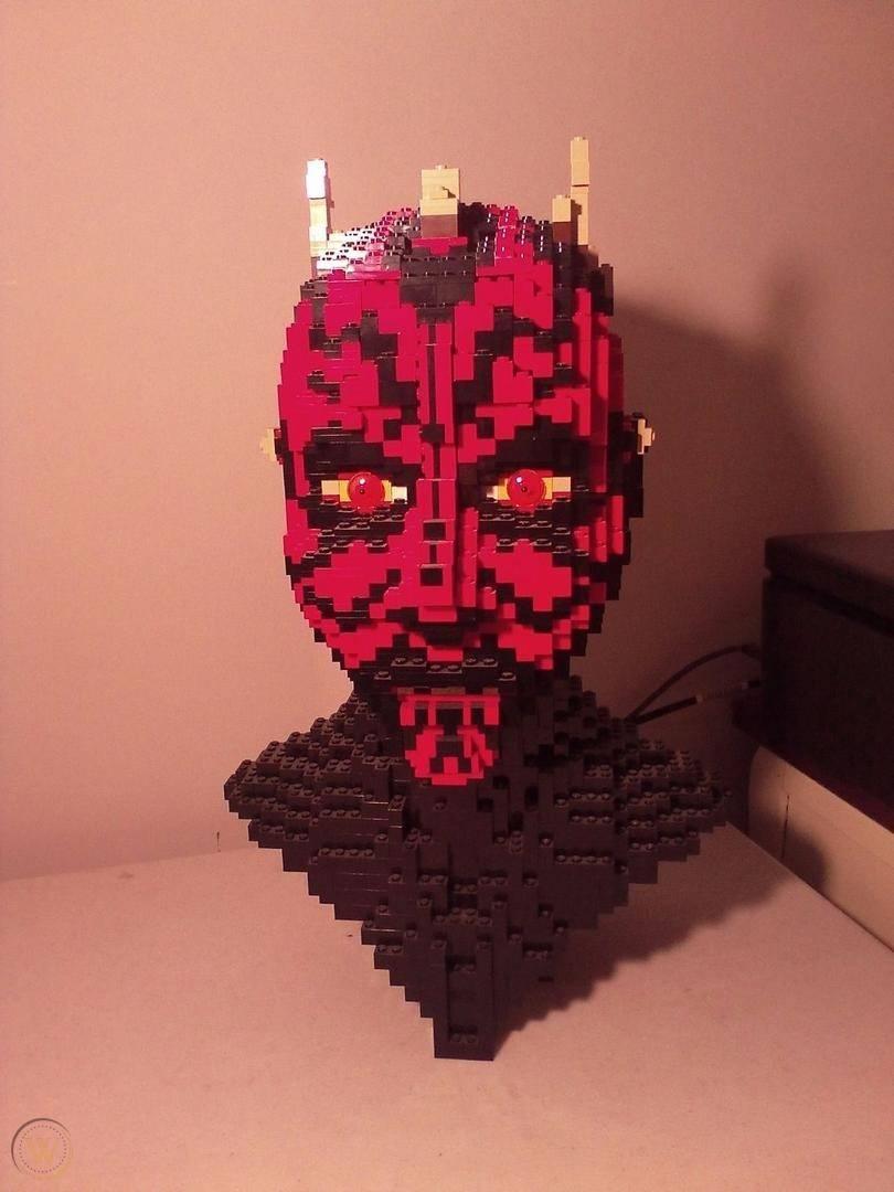 Darth Maul LEGO Head