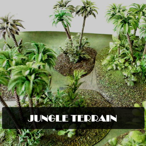 HAND-MADE-QUALITY-JUNGLE-TERRAIN-FOR-WARGAMING-BOLT-ACTION-WW2-VIETNAM