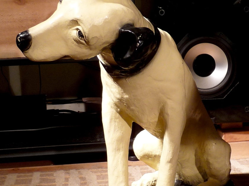 "RCA His Master's Voice ""Nipper"" Vintage Store Display"