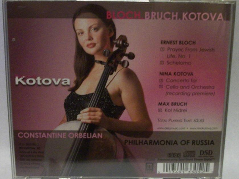 Nina Kotova - - Bloch, Bruch & kotova Top Music SACD, brand new