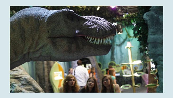 odysseum koeln dinosaurier