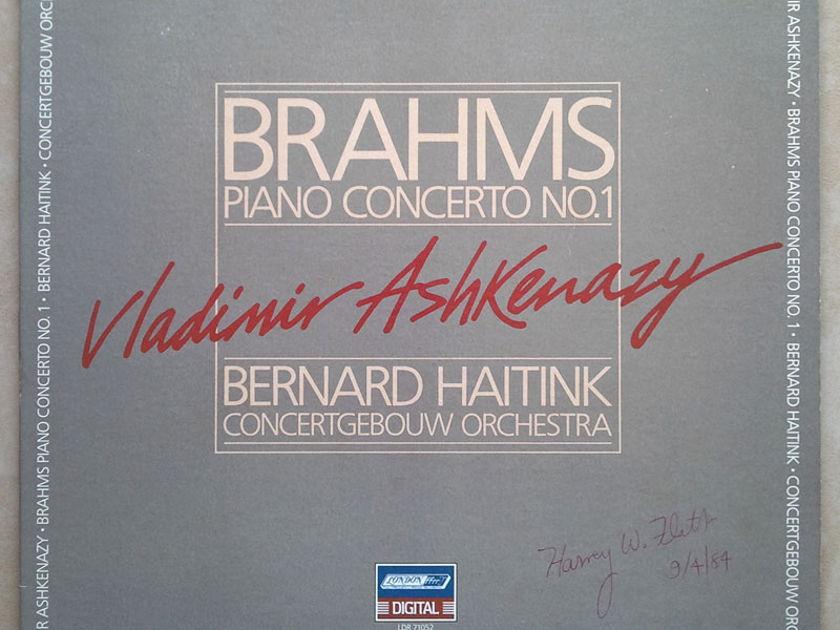London Digital/Ashkenazy/Brahms - Piano Concerto No. 1 / NM