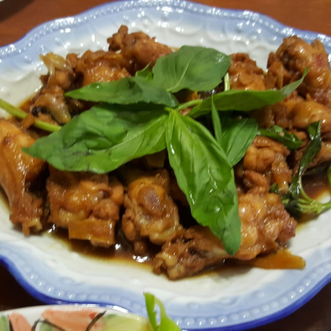 I have cooked this three cup chicken , well received by my family. All thumbs up !