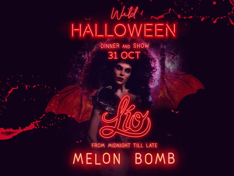 Melon bomb, lio club halloween Ibiza party 2019