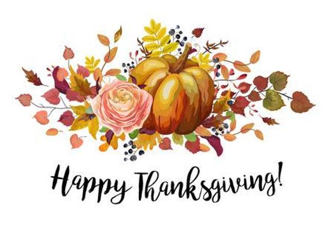 Thanksgiving, November 2019,