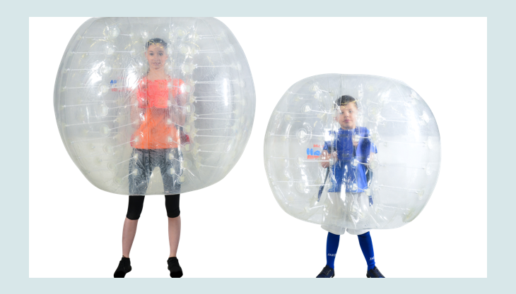 bubblefootball frauimbumperz kindimbumperz