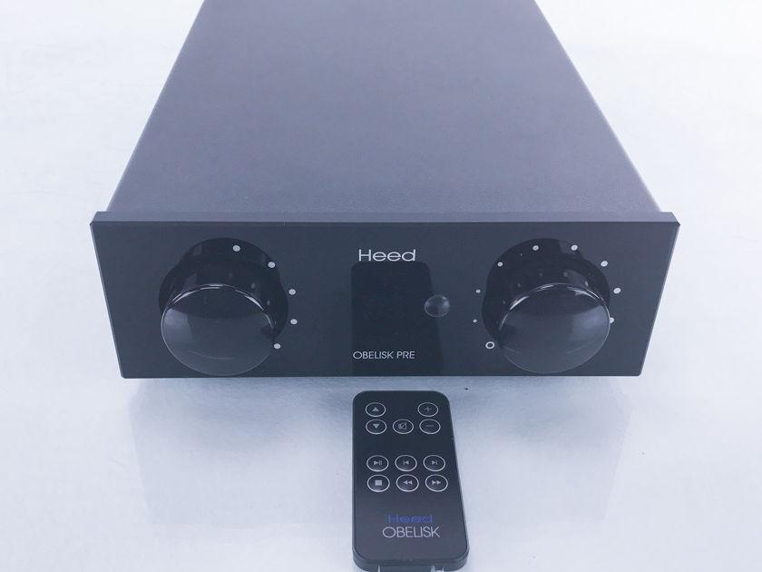 Heed Audio Obelisk Pre Stereo Preamplifier (2655)