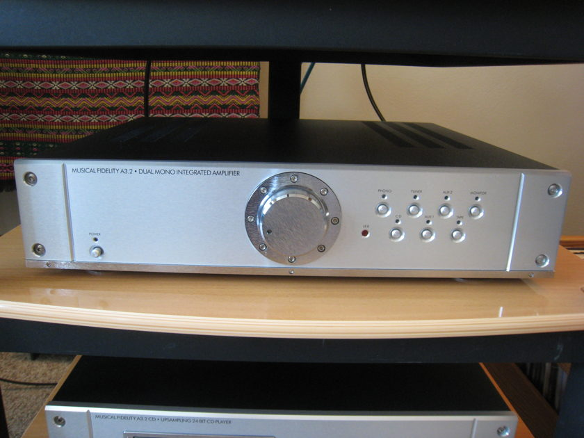 Musical Fidelity -  A3.2 Mono Integrated Amplifier