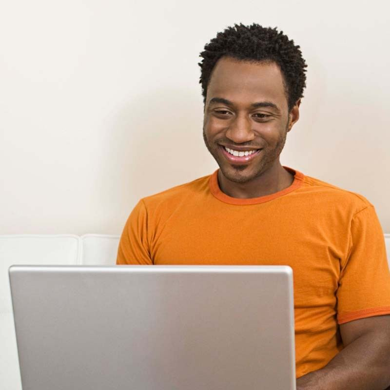 Man using computer original 13427