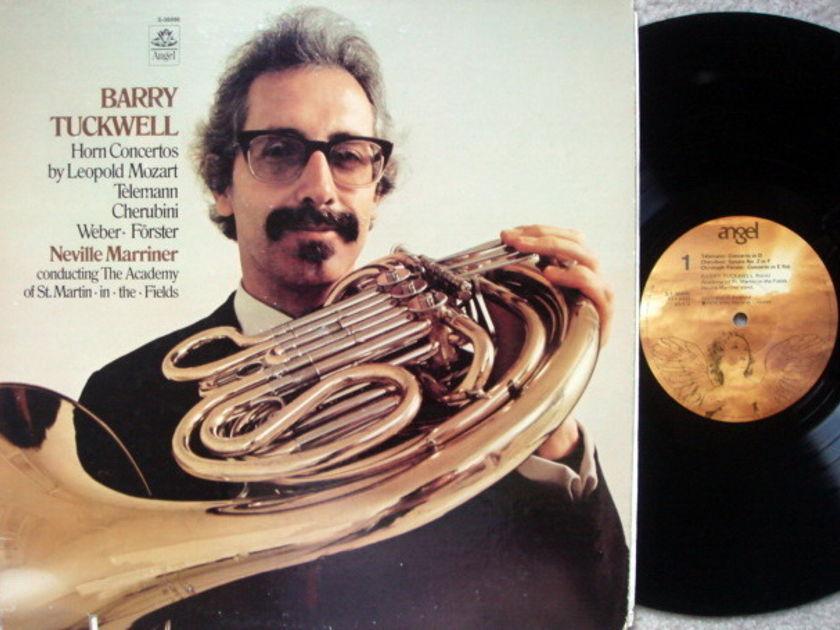 EMI Angel / TUCKWELL-MARRINER, - Mozart Horn concertos,  NM!