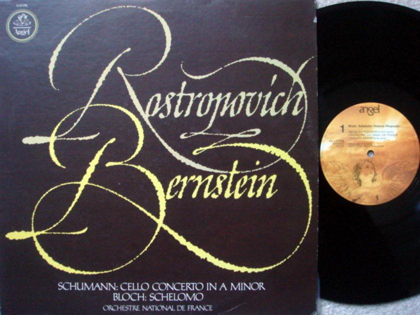 EMI Angel / ROSTROPOVICH-BERNSTEIN, - Schumann Cello Conerto,  MINT!