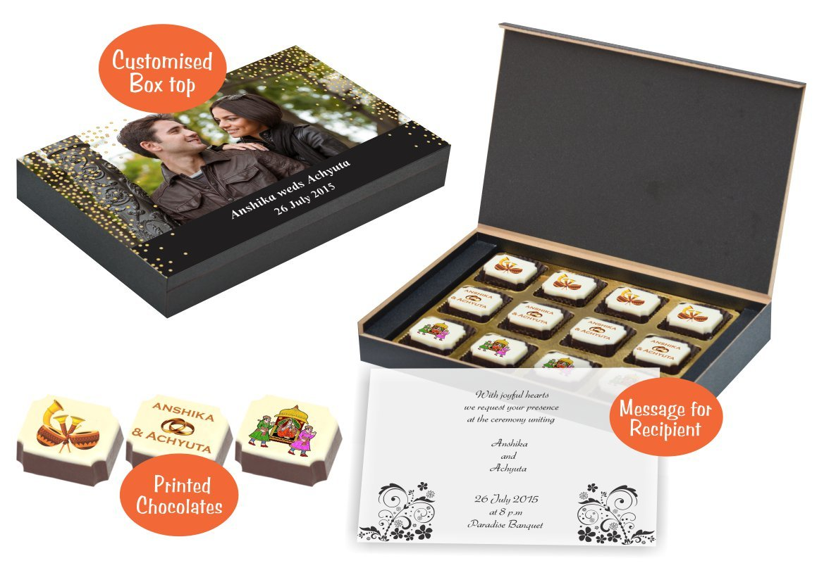 These days there is a great demand for innovative wedding return gift ideas for Indian weddings. At ChocoCraft we create exclusive wedding return gifts ...