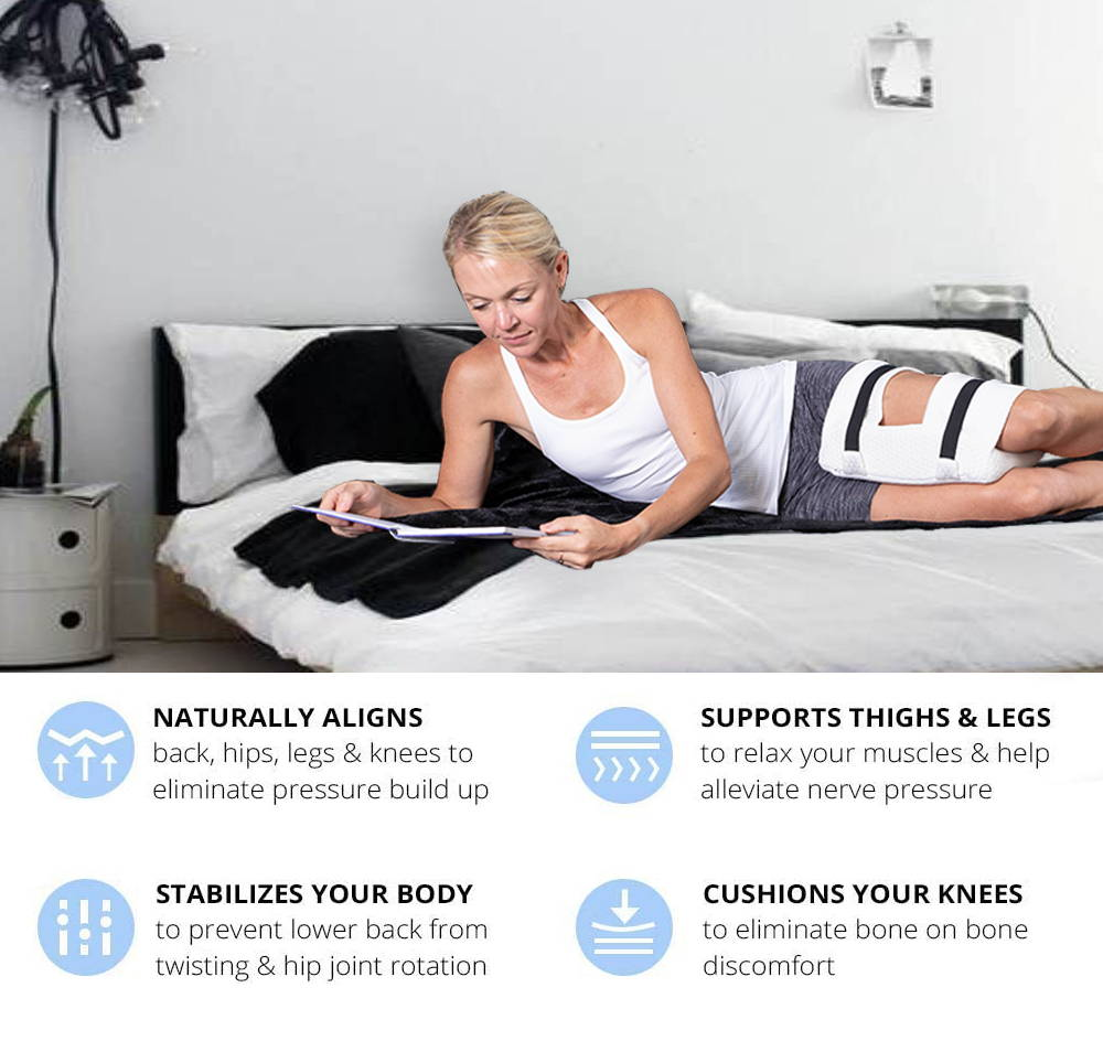 laying inforgraphic naturally aligns stabilizes supports cushions