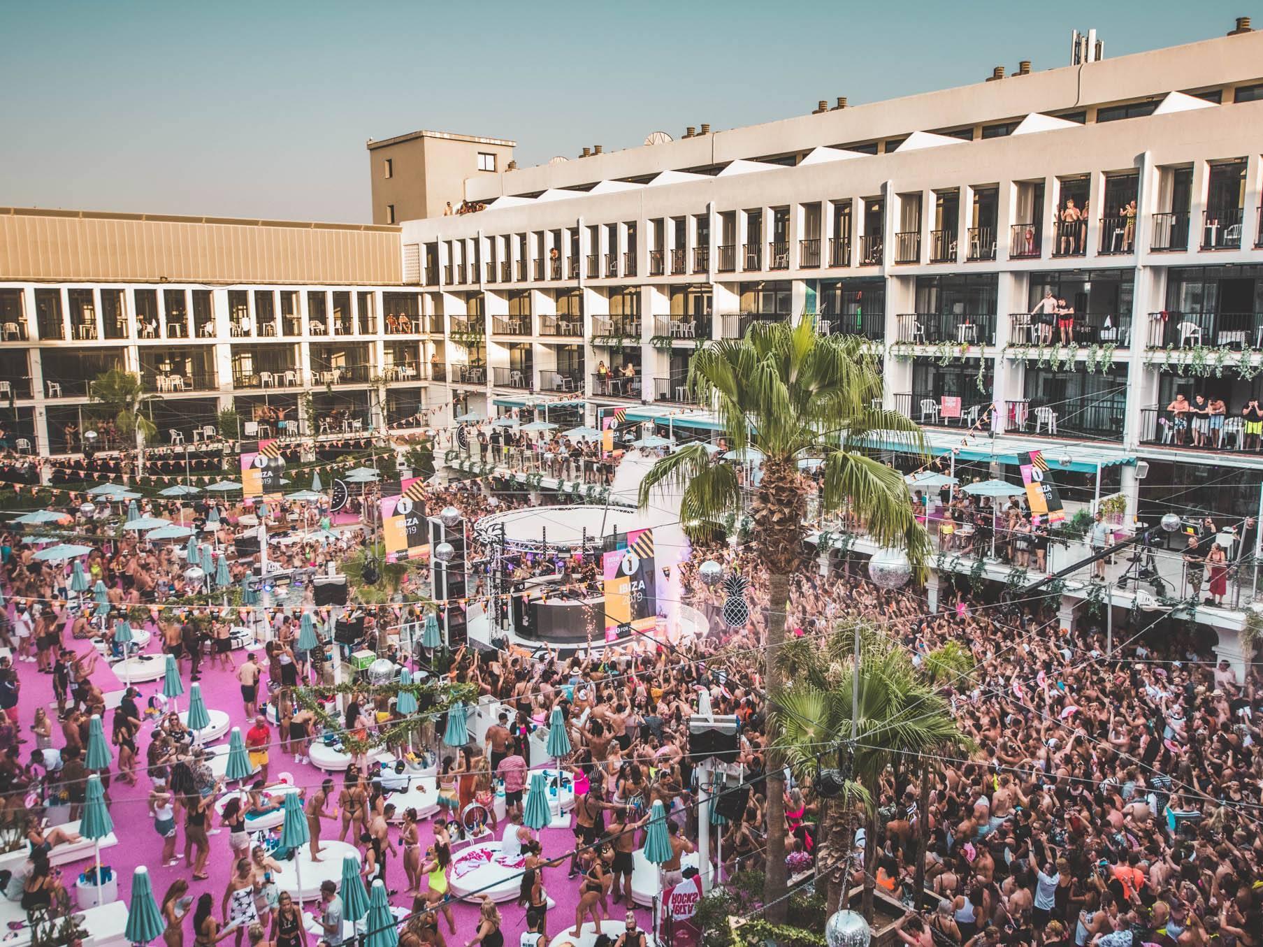 BBC1 party Ibiza rocks Hotel