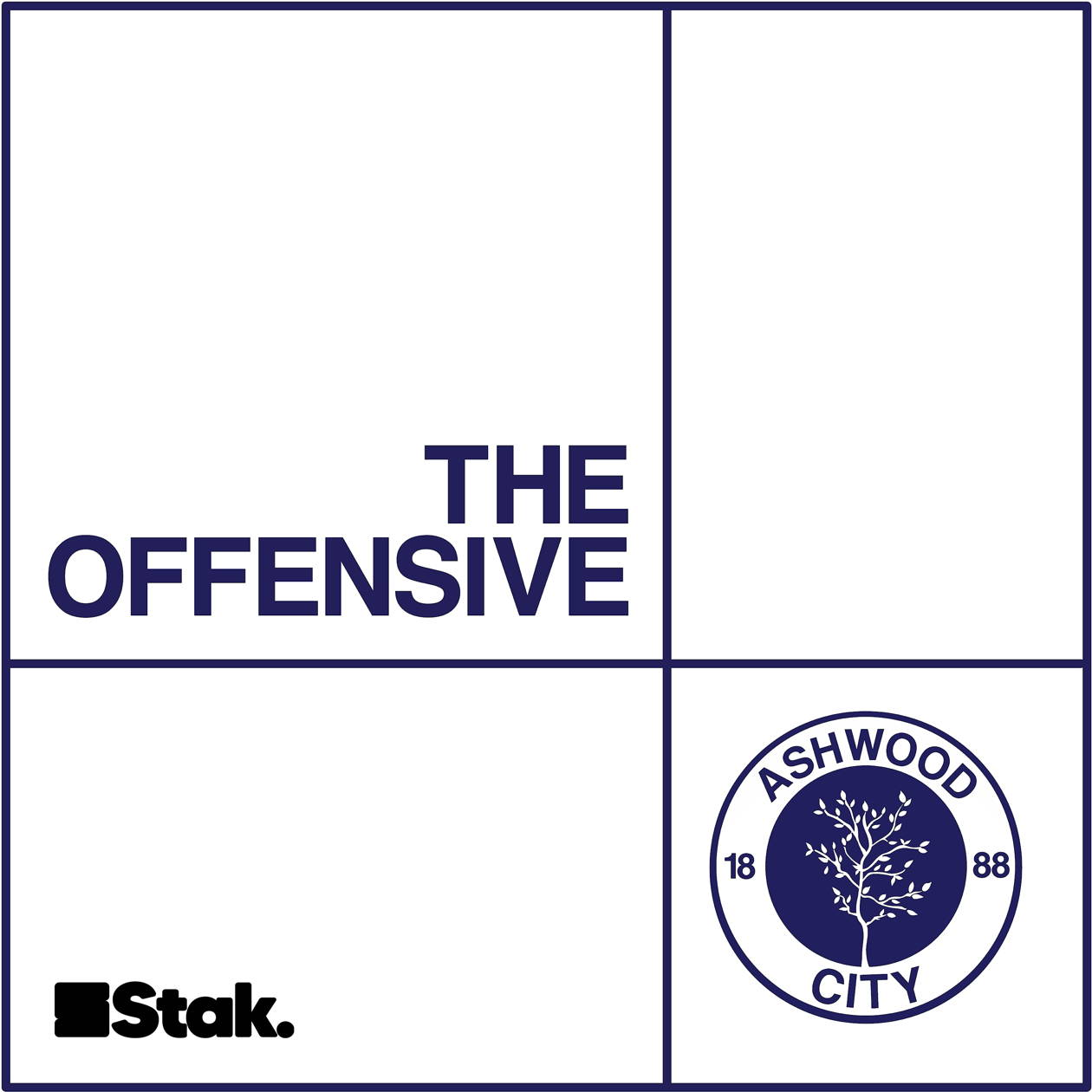 Artwork for the The Offensive podcast.
